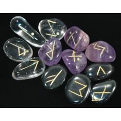 Runes - Quartz Rose