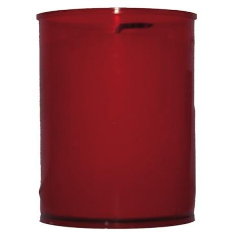 Lot de 10 Veilleuses votives - 30 H - rouge