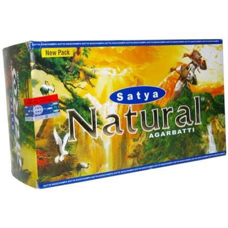 Encens Natural - 15 grs - Satya - Lot de 12 boîtes
