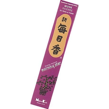 Encens japonais - Musc - boîte de 50 sticks
