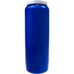 Lampe de sanctuaire 9 jours - Bleue - Carton de 6