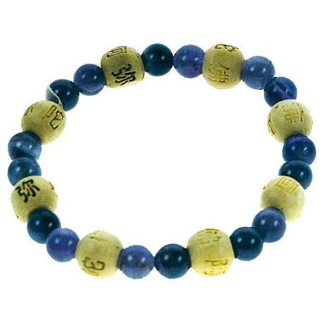Bracelet perles de karma - Sodalite