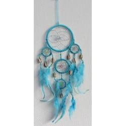 Dreamcatcher Petit Modèle Turquoise - 9 cm