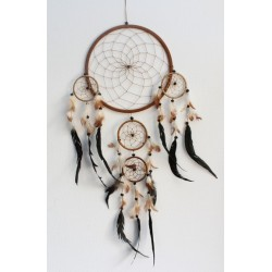 Dreamcatcher Grand Modèle Naturel - 26 cm