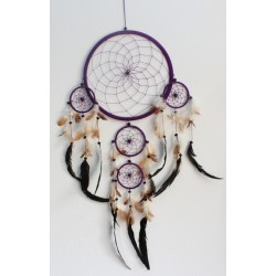 Dreamcatcher Grand Modèle Violet - 26 cm