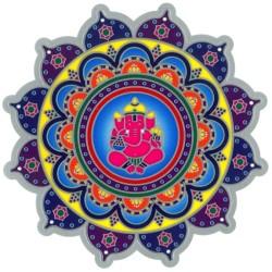 Autocollant Attrape Soleil : Ganesh