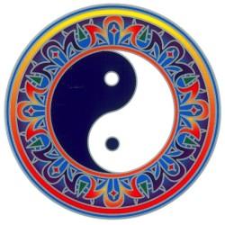 Autocollant Attrape Soleil : Yin Yang