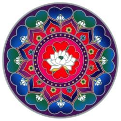 Autocollant Attrape Soleil : Mandala 3