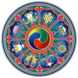 Autocollant Attrape Soleil : Mandala 5
