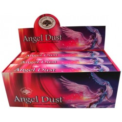 Encens Green Tree Angel Dust 15 grammes - Lot de 12
