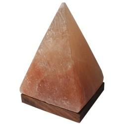 Lampe Pyramide en cristal de sel