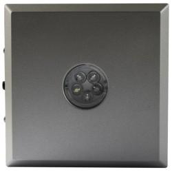 Support base LED pour lampes - 5 LED couleur argent
