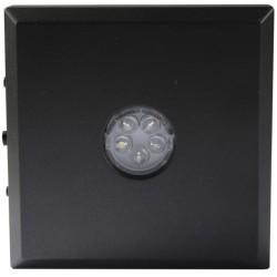 Support base LED pour lampes - 5 LED couleur noir