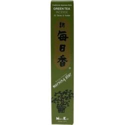 Encens japonais - Thé vert - boîte de 50 sticks