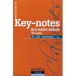 Key-notes de la matière médicale - 196 remèdes