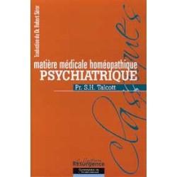 Matière méd. homéopathique psychiatrique
