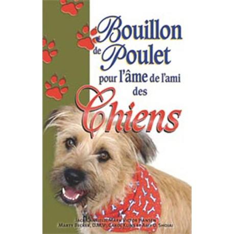 Bouillon de poulet pour ami des chiens