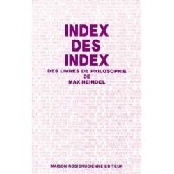 Index des index des livres de philosophie de Max Heindel