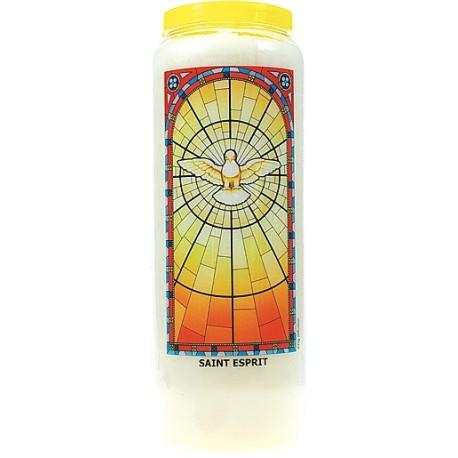 Neuvaine vitrail : Saint Esprit