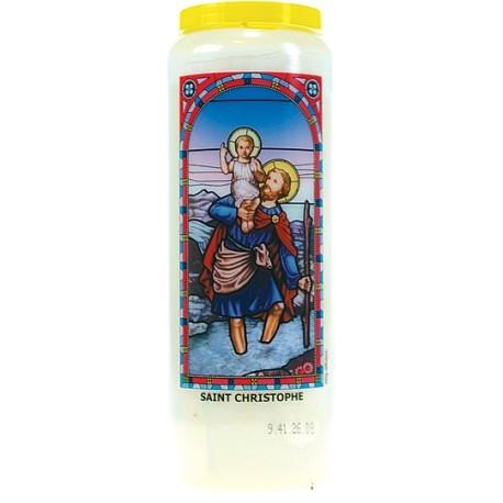 Neuvaine vitrail : Saint Christophe