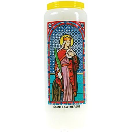 Neuvaine vitrail : Sainte Catherine