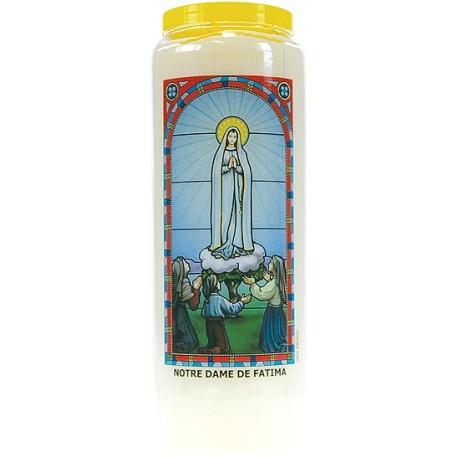 Neuvaine vitrail : Notre Dame de Fatima