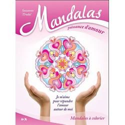 Mandalas puissance d'amour - Je m'aime pour répandre l'amour autour de moi