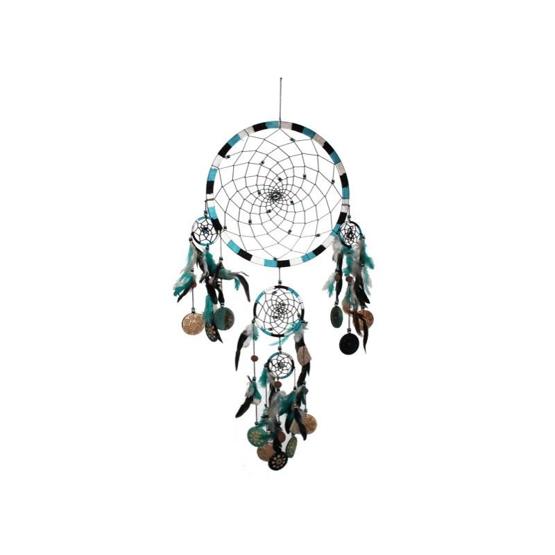 attrape r ves bleu turquoise grand mod le. Black Bedroom Furniture Sets. Home Design Ideas