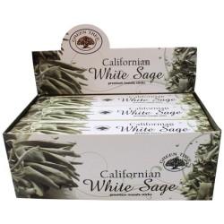 Encens Green Tree White Sage 15 grammes - Lot de 12