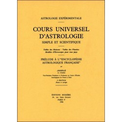Cours universel d'astrologie simple et scientifique