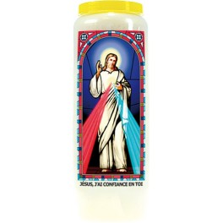Neuvaine vitrail : Jésus, j'ai confiance en toi