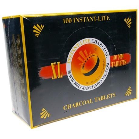Charbons ardents ø 40 mm (Vente par rouleaux : 10 charbons)