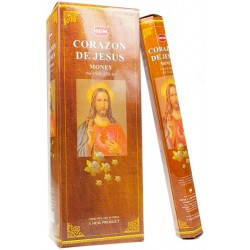 Encens Corazon de Jesus - 20 grs - Hem -