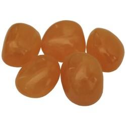 Pierres Roulées - Calcite Orange _ Vendu à l'unité