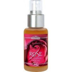 HUILE DE SOIN A LA ROSE DE DAMAS - BIO 50 ML - FLACON SPRAY