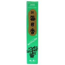 Encens japonais - Sauge - boîte de 50 sticks