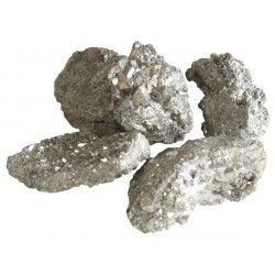 Pyrite Chispas Brute Petits Morceaux - Qualité Extra - Sachet de 250 gr