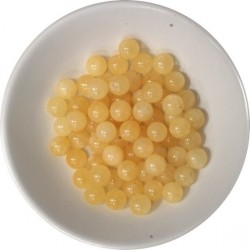 Perles Calcite Orange 6 mm - Sachet de 66 perles