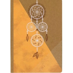 CARNET A5 - 64 PAGES - DREAMCATCHER