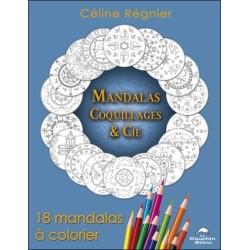 Mandalas Coquillages & Cie - 18 mandalas à colorier
