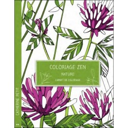 Coloriage zen - Nature - Carnet de coloriage