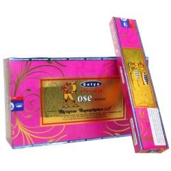 Encens Natural Serie Satya - Rose - 15 grs -