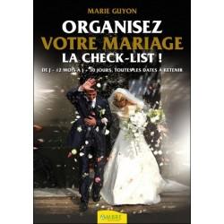 Organisez votre mariage - La check-list !