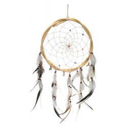 Dreamcatcher Naturel en Bois de Saule GM
