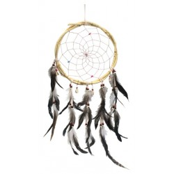 Dreamcatcher Naturel en Bois de Saule PM