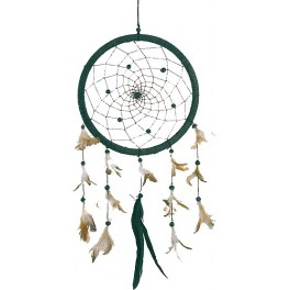 Dreamcatcher grand modème, simple - Noir