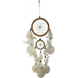 Dreamcatcher plume GM - Naturel