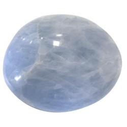 Galet 7 à 10 cm - Calcite Bleue