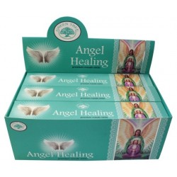ENCENS GREEN TREE ANGEL HEALING 15 GR - LOT DE 12