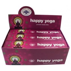 ENCENS GREEN TREE HAPPY YOGA 15 GR - LOT DE 12